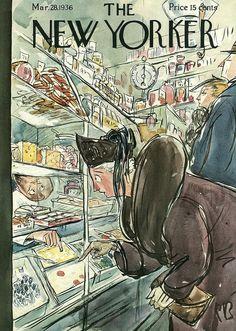 Обложки журнала «The New Yorker» за 1936 год
