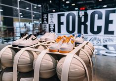 "Nike Set Up An Awesome ""Force Court"" At ComplexCon - SneakerNews.com"