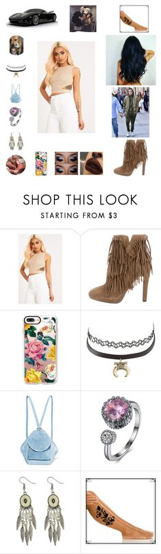 """""""Kiss myself"""" by nikoleta-nicky-malik ❤ liked on Polyvore featuring Magdalena, Jean-Michel Cazabat, Casetify, Charlotte Russe and MANU Atelier"""
