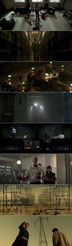 Cinematography by Darius Khondji Directed by David Fincher David Fincher, Black Butler Anime, Cinematic Photography, Film Photography, Age Of Ultron, Brad Pitt, Darius Khondji, Storyboard, Se7en 1995