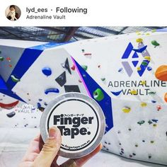 FINGER TAPE Knows Climbing. From Singapore to Perth @lyd_ees feeling at home again. Climbers take note. Climbing will never be the same. Be awesome. Save your grips. #climbing #rockclimbing #bouldering #indoorclimbing #singapore #perth #climbinggirl #instagram #pinterest #fingertape #fingatepu