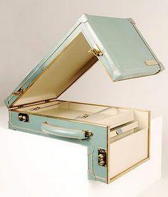 Custom luggage that won't fit in the overhead bin!