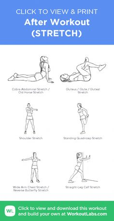 After Workout Stretches Stretching Exercises Detox Drinks Easy Workouts Full Body Fitness Motivation Weight Loss Health Fitness Exercises Summer Body Workouts, Gym Workout For Beginners, Gym Workout Tips, Fitness Workout For Women, At Home Workout Plan, Post Workout, Easy Workouts, Workout Videos, At Home Workouts
