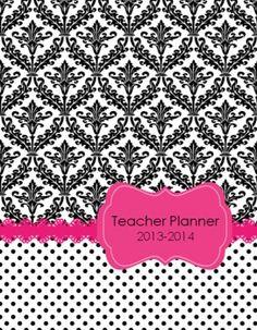 6th Grade Teacher & Lesson Planner Editable w/Common Core, $