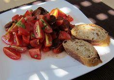Stephi´s Köstlichkeiten: Chorizo-Tomaten-Salat