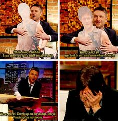 The Talking Dead - it's no wander he's embarrassed! funniest talking dead!!