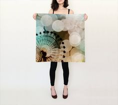 Women's Art Silk Scarf At the Fair fine art by SylviaCPhotography