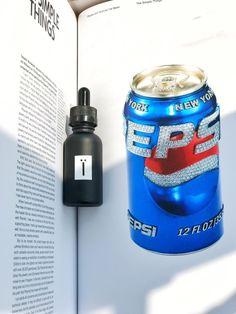 Одна из наших премиум жидкостей для вейпа с баночкой пепси.  #жижи #вейп