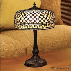 Interiors 1900 Mille Feux Medium Tiffany Table Lamp
