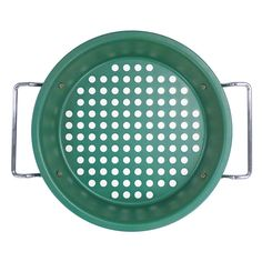 Mr. Bar-B-Q 10-in. Ceramic Deep Dish Grill Pan, Multicolor
