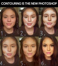 INSANE! #makeup contouring
