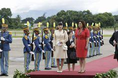 Mako se trasladará al occidente  para inauguración de un museo digital en Copán junto a la Primera Dama.