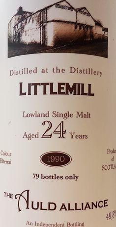 Littlemill 1990 24yo 49.8% (79 bottles)