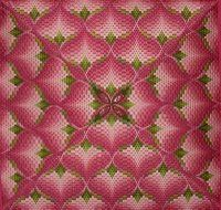 The Best Four-way Bargello Ever! - Nuts about Needlepoint