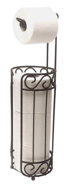 """Features:  -Finish: Bronze.  Finish: -Bronze.  Mount Type: -Freestanding.  Primary Material: -Metal. Dimensions:  Overall Height - Top to Bottom: -22.25"""".  Overall Width - Side to Side: -6"""".  Overall"""