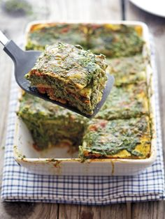 Cauliflower Noodle Spinach Lasagna from The Iron You was featured in the 25 Deliciously Healthy Low-Carb Recipes round-up on KalynsKitchen.com.