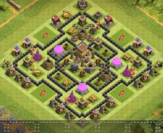 Farming Bases Links 2020 with Bomb Tower. These Bases can Withstand various enemy attacks in multiplayer battles. Coc Clash Of Clans, Clash Of Clans Cheat, Clash Of Clans Game, Town Hall, Base, Farming, Iphone, Anime, Pictures