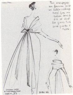 1956 - Dior Sketch