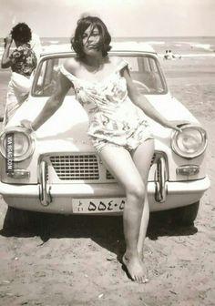 Iranian woman in the era before the Islamic Revolution,1960.