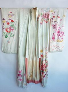 Georgeous romantic vintage authentic Japanese hand by alinavintage, $425.00