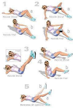 Ejercicios para reducir cintura