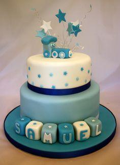 Image detail for -Christening Cake