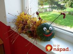 Začnite zbierať opadané lístie: 25 úžasných nápadov, ako ich premeniť n. Pumpkin Halloween Costume, Fall Halloween, Halloween Crafts, Leaf Crafts, Diy And Crafts, Crafts For Kids, Autumn Crafts, Nature Crafts, Handmade Christmas Gifts