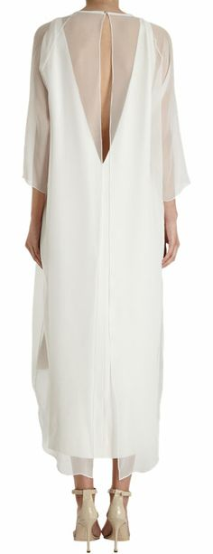 Juan Carlos Obando Sheer Overlay Dress at Barneys.com