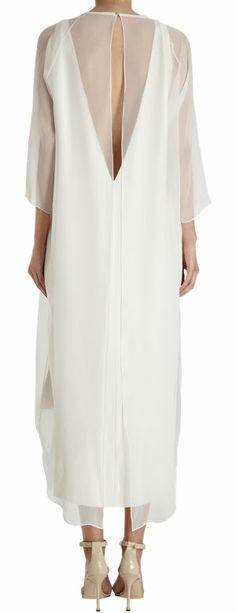 Juan Carlos Obando Sheer Overlay Dress at Barneys.com