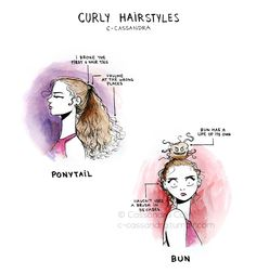 :) I can sympathize with this! Hopefully most of my curls are coming off today though!