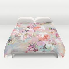 Buy ultra soft microfiber Duvet Covers featuring Love of a Flower by Girly Trend. Hand sewn and meticulously crafted, these lightweight Duvet Cover vividly feature your favorite designs with a soft white reverse side.