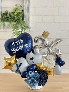 Balloon Crafts, Birthday Balloon Decorations, Balloon Gift, Birthday Balloons, Balloon Arrangements, Balloon Centerpieces, Centerpiece Ideas, Bubble Balloons, Clear Balloons