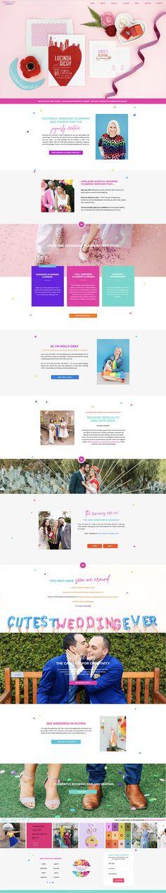 Wedding planner Showit website design by Rachael Earl Design. Creative Business, Wedding Planner, Logo Design, Branding, Website, Wedding Planer, Brand Management, Identity Branding, Wedding Planners