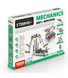 Engino Stem Μηχανική: Γρανάζια & Κοχλίες (Επίπεδο Δυσκολίας 3) STEM05