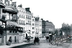 Photo of London, Park Lane 1890 from Francis Frith Victorian London, Vintage London, Old London, Victorian Era, London History, British History, Modern History, Strange Photos, Old Street