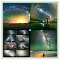 Collage of Chhayapath / Milkyway.