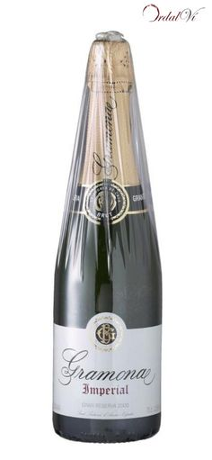GRAMONA IMPERIAL Gran Reserva Brut. Gramona. Xarel·lo, Macabeo, Chardonnay. Penedès ( 16.25€ ) ordalvi.com El toque de licor de expedición y su elegancia han convertido el Imperial Gran Reserva Brut en un clásico entre sus adictos consumidores. El Imperial tiene un periodo de crianza en cava de entre 3 y 4 años. Gramona elabora este cava con las variedades Xarel·lo 50%, Macabeo 40% y Chardonnay 10%.