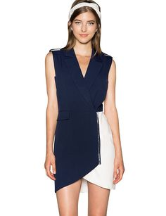 Night and Day Navy Dress $69.00