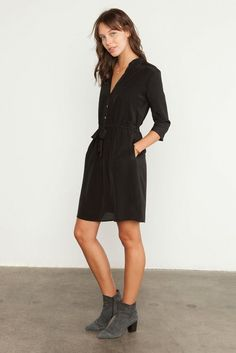 Another practical dress that could be work appropriate but also easily worn on the weekend.