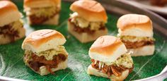 Pulled Pork Sliders with Brussels Sprouts Slaw By Tiffani Thiessen