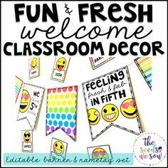Emoji Classroom Deco