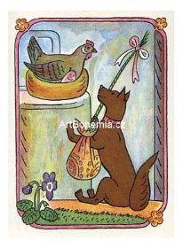 Artbohemia.cz, Josef Lada: Koledníček (Velikonoce) Dog Illustration, Jack Russell Terrier, Little Dogs, Illustrators, How To Draw Hands, Painters, Drawings, Europe, Kunst