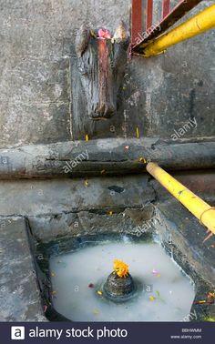 Shiva lingam shrine. Vishwanath Temple. Uttarkashi. Uttarakhand. India