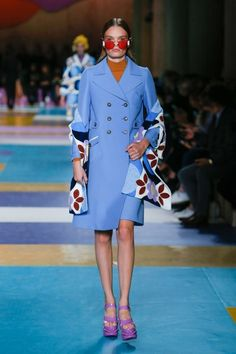 View the complete Miu Miu Spring 2017 collection from Paris Fashion Week.