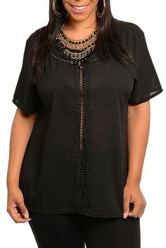 DHStyles Women's Black Plus Size Sexy Sheer Cut Out Short Sleeve Top - 3X #sexytops #clubclothes #sexydresses #fashionablesexydress #sexyshirts #sexyclothes #cocktaildresses #clubwear #cheapsexydresses #clubdresses #cheaptops #partytops #partydress #haltertops #cocktaildresses #partydresses #minidress #nightclubclothes #hotfashion #juniorsclothing #cocktaildress #glamclothing #sexytop #womensclothes #clubbingclothes #juniorsclothes #juniorclothes #trendyclothing #minidresses #sexyclothing…