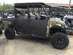 Tired of those nets on your Ranger Crew 900. Pick up a cool set of these steel half doors. #WoodsCycleCountry
