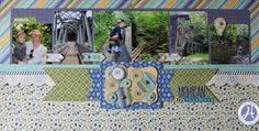 My Layout from Camping trip to Mohican on Hampton Art Blog