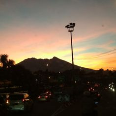 Sunset at Puncak