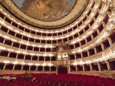 Teatro San Carlo, Naples, Italy
