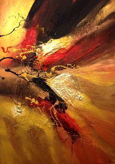 Dreaming, painting by Dan Bunea, living #abstract #paintings, www.danbunea.ro